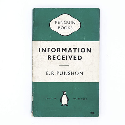 Information Received by E. R. Punshon 1955