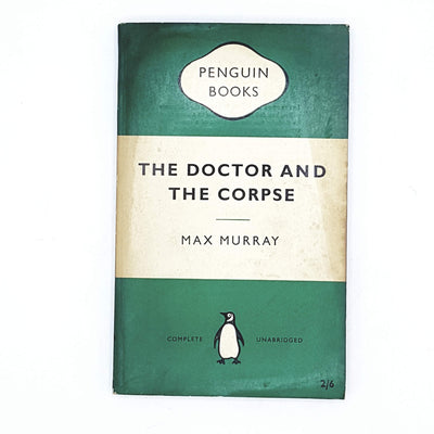 The Doctor and the Corpse by Max Murray 1957