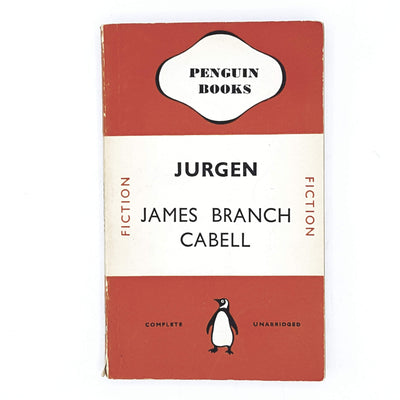 Jurgen by James Branch Cabell 1940