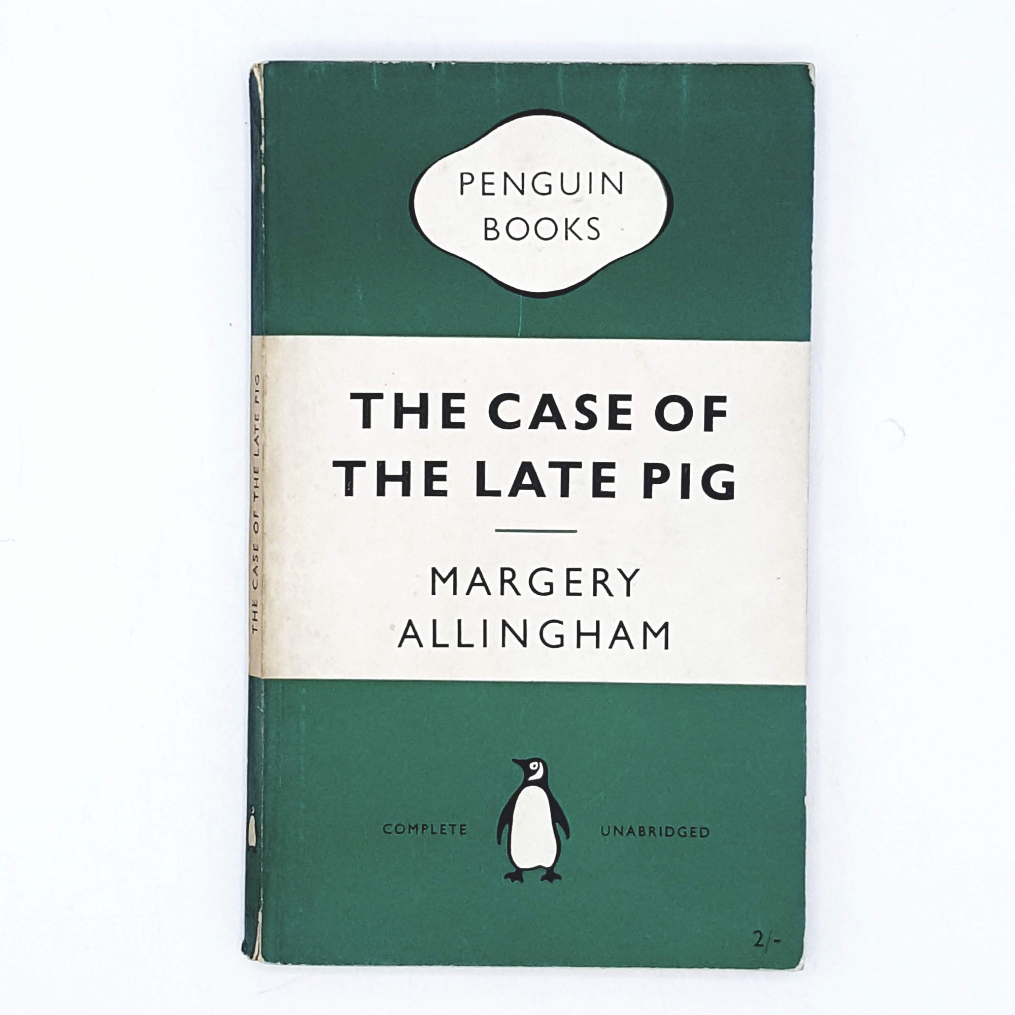 The Case of the Late Pig by Margery Allingham 1954