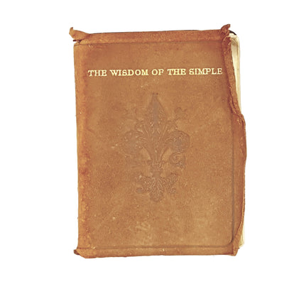 The Wisdom of the Simple by Giles of Assisi