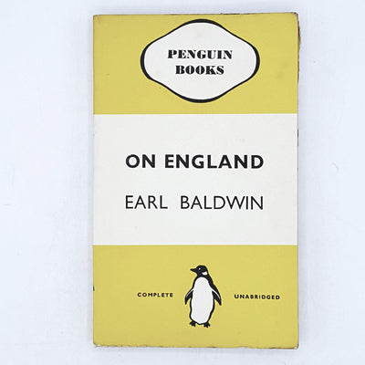 On England by Earl Baldwin 1938