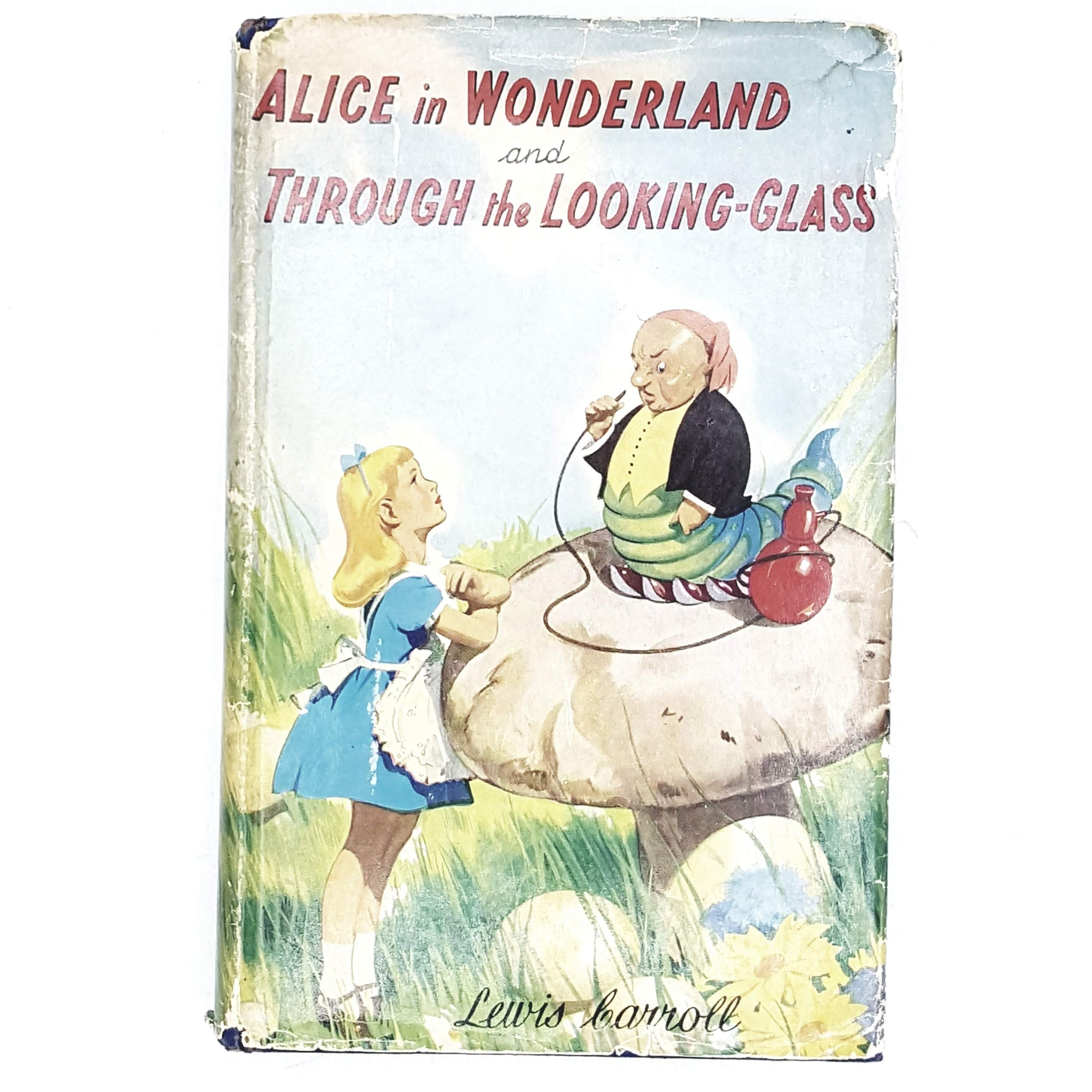 Lewis Carroll's Alice in Wonderland and Through the Looking Glass c1955