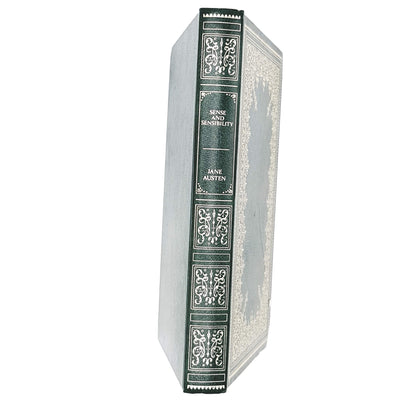 Jane Austen's Sense and Sensibility green gold-patterned