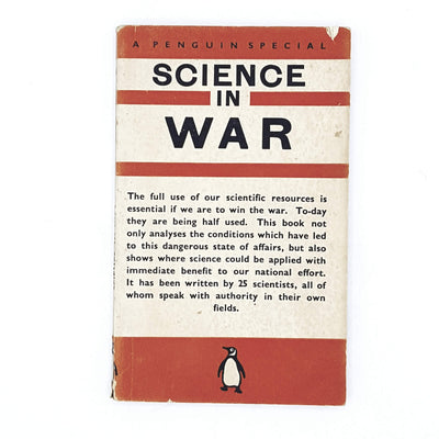 Science in War 1940