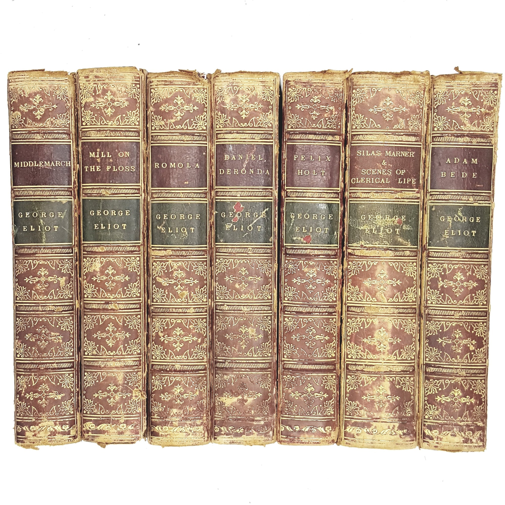 Collection Illustrated Works of George Eliot c1880