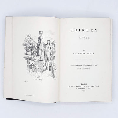 Shirley by Charlotte Bronte 1902