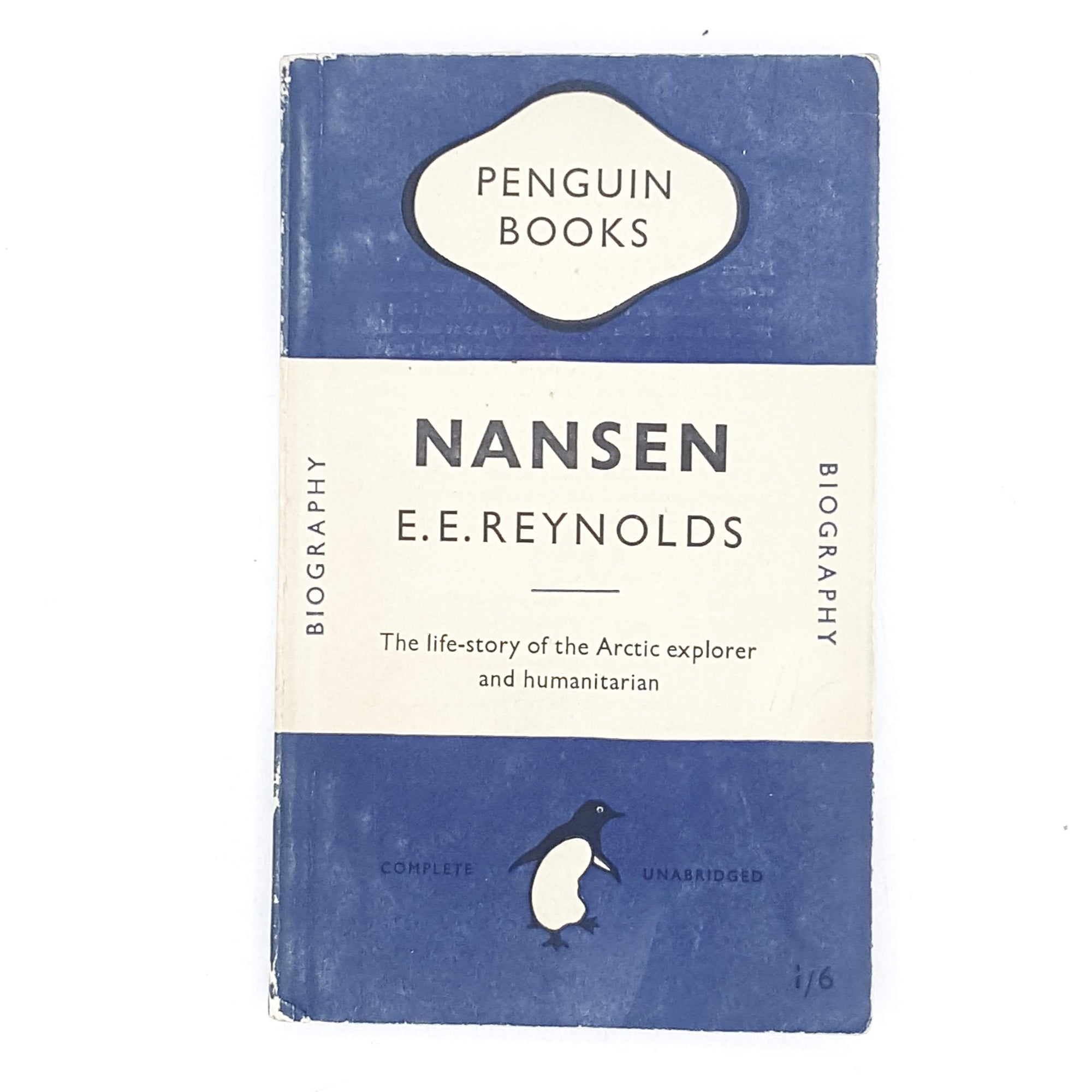 Nansen by E. E. Reynolds 1949