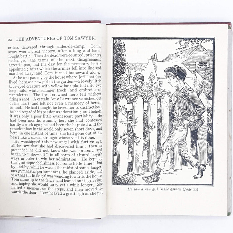 Illustrated Mark Twain's Tom Sawyer Nelson