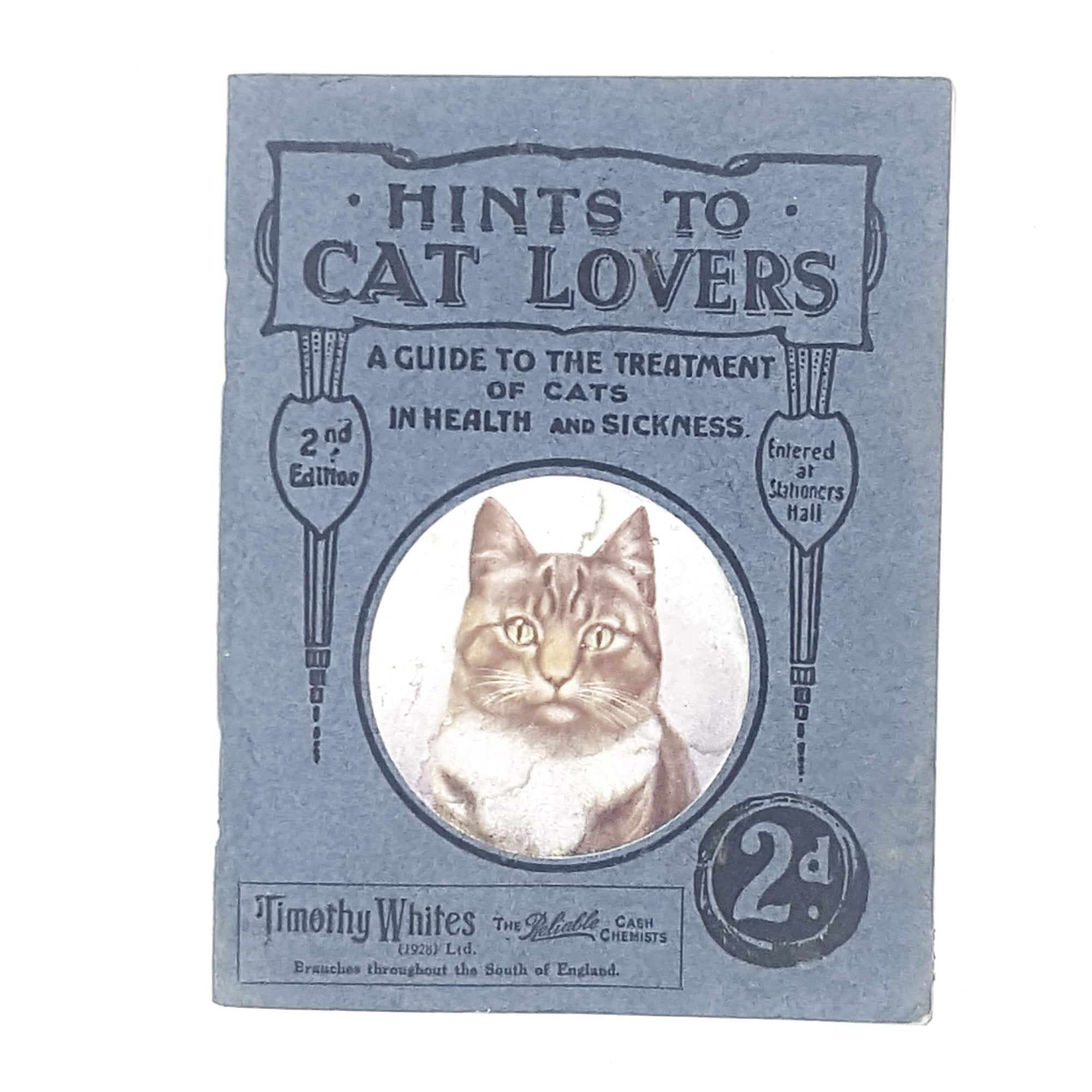 Hints to Cat Lovers 1927