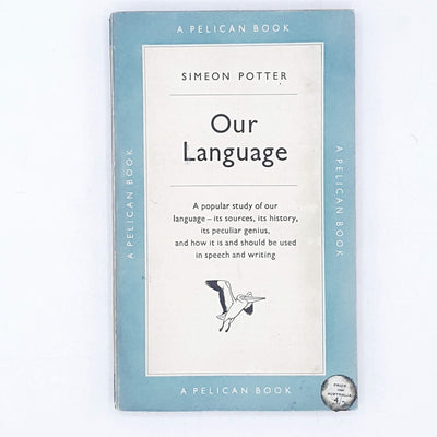 Our Language by Simeon Potter 1956