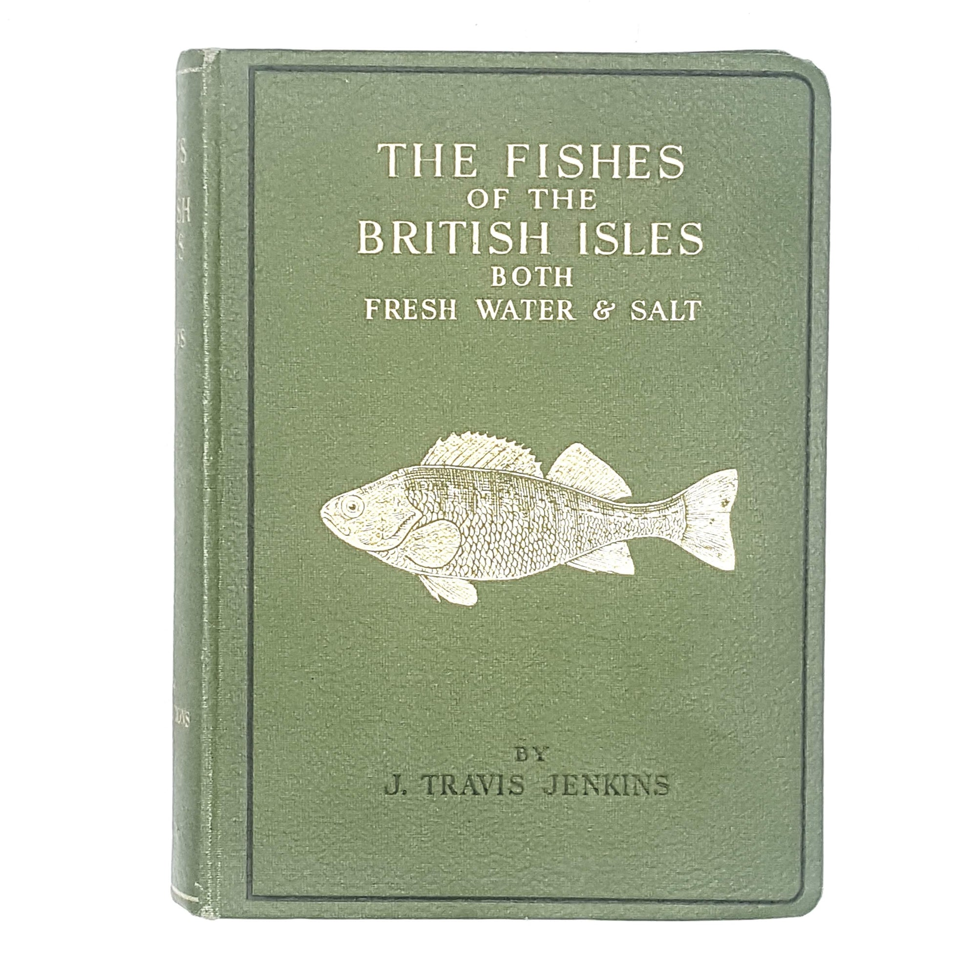 Illustrated The Fishes of the British Isles Both Fresh Water & Salt by J. Travis Jenkins 1942