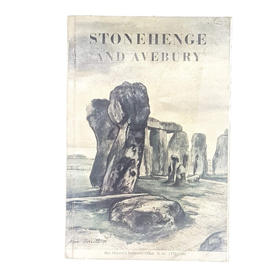 Stonehenge and Avebury by R. J. C. Atkinson 1970