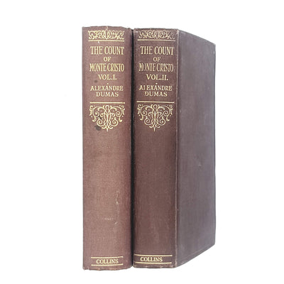 Collection The Count of Monte Cristo by Alexandre Dumas c1935