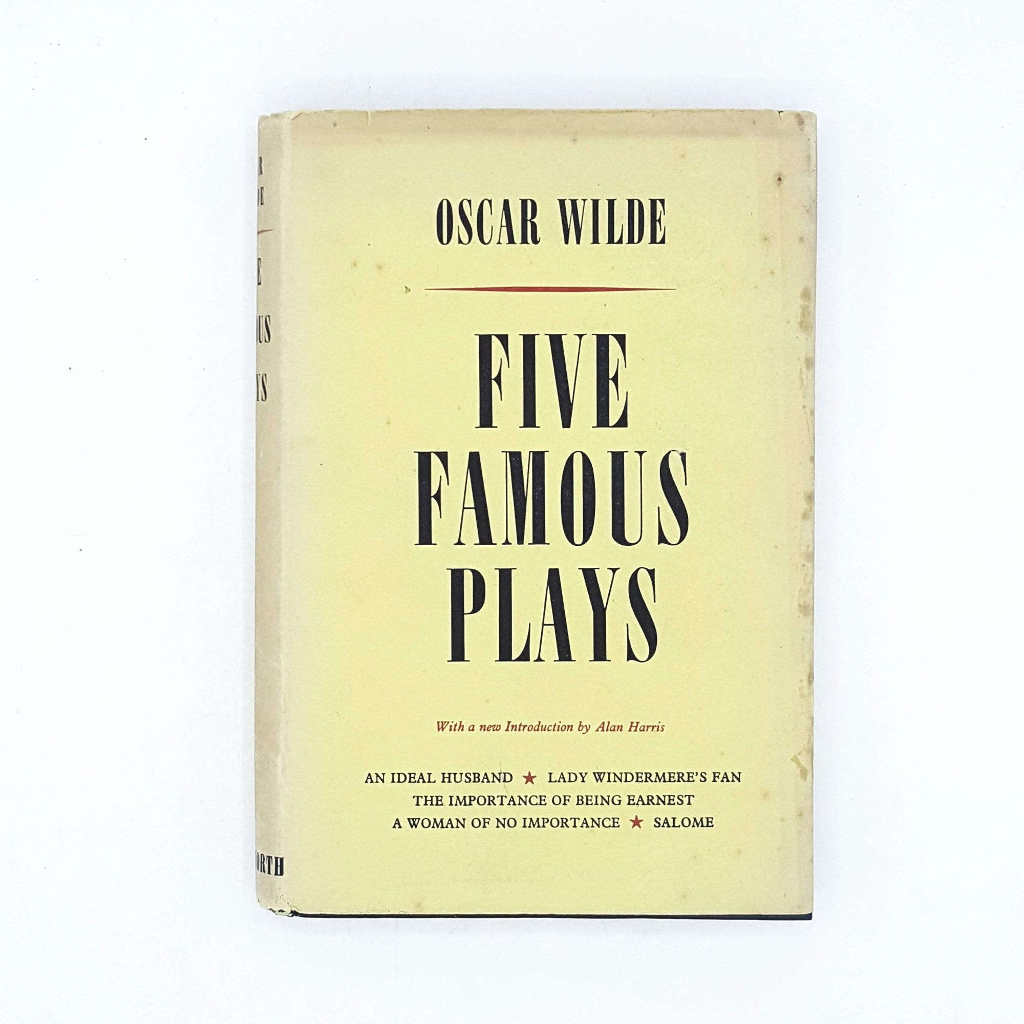 Oscar Wilde's Five Famous Plays 1952