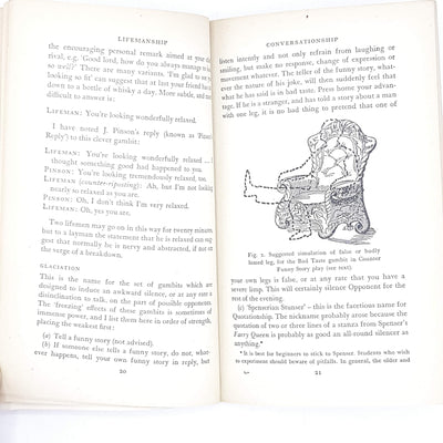 Illustrated Some Notes on Lifemanship by Stephen Potter 1962