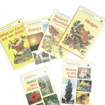 Ladybird: Conservation Collection 1970s 1980s