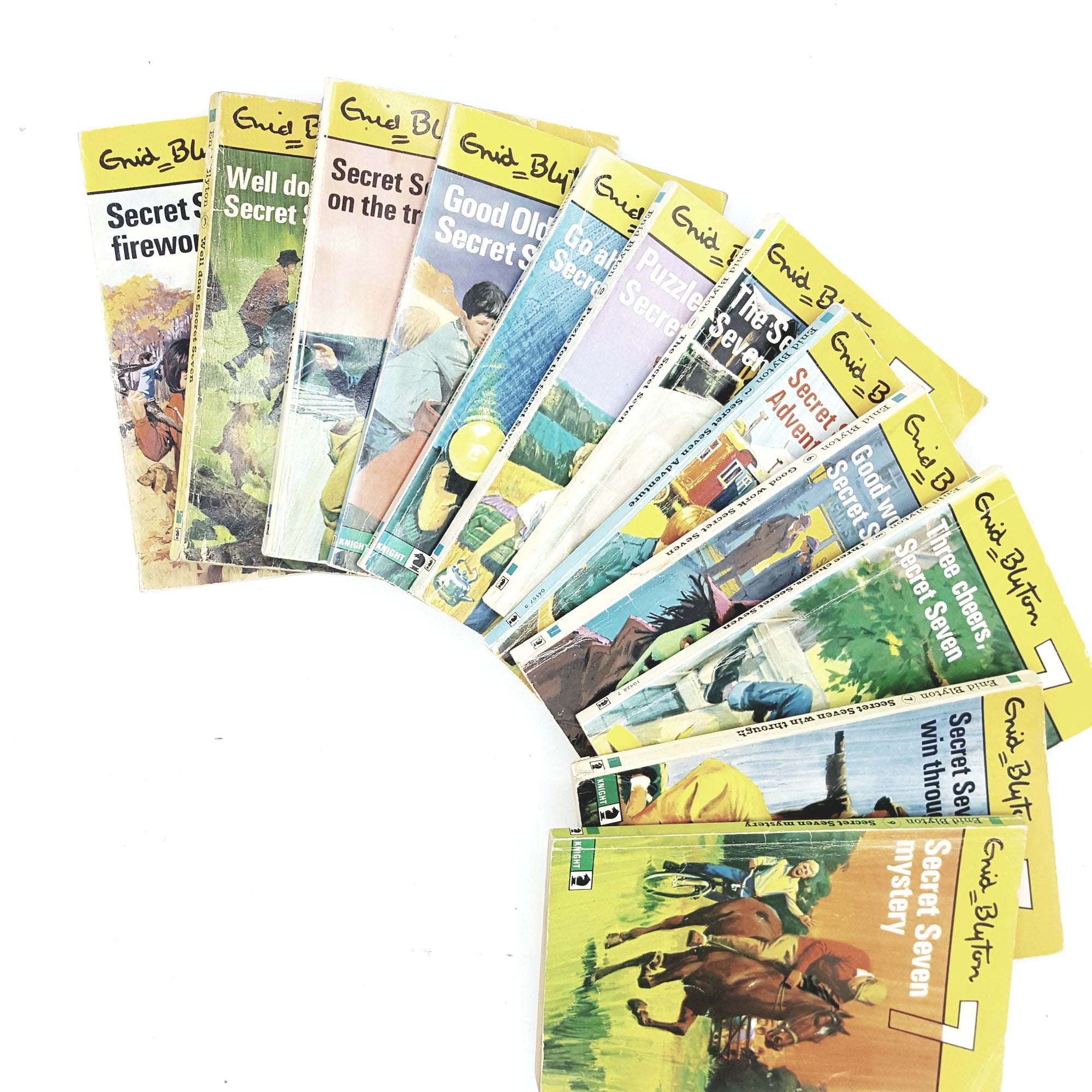 Enid Blyton Secret 7 Collection 1970s