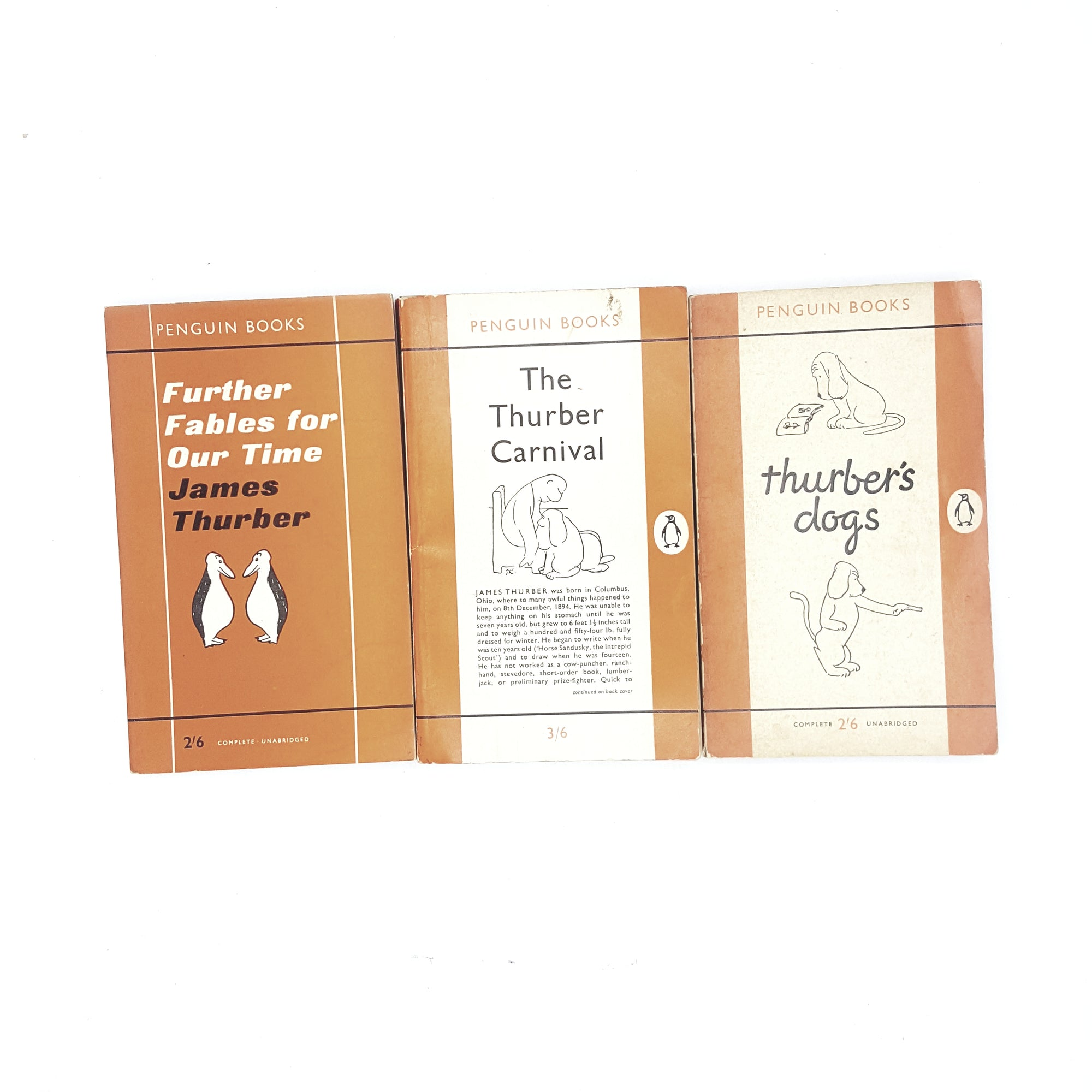 James Thurber Penguin Collection 1950s 1960s