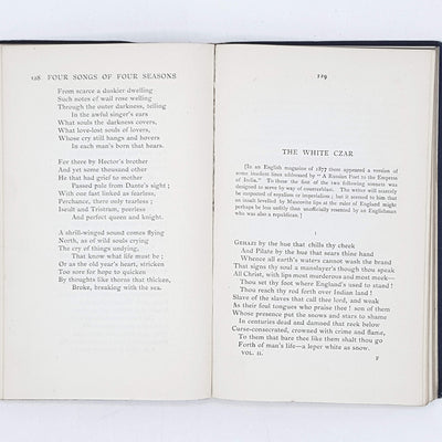 Poems and Ballads by Algernon Charles Swinburne 1918