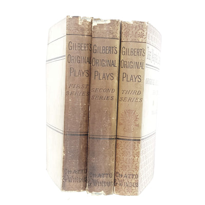 Collection Original Plays by W. S. Gilbert 1881 - 1895
