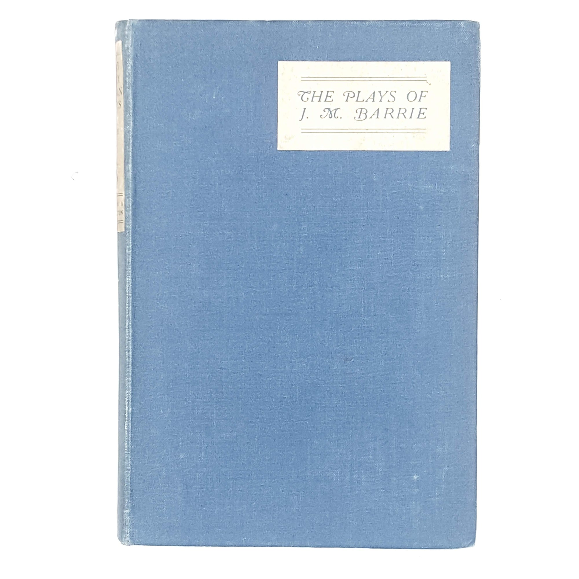 The Plays of J. M. Barrie 1922