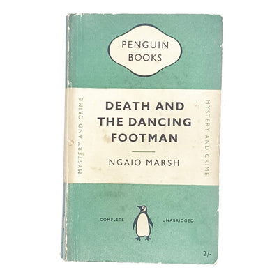 Death and the Dancing Footman by Ngaio Marsh 1951