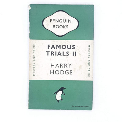 Famous Trials II by Harry Hodge 1948