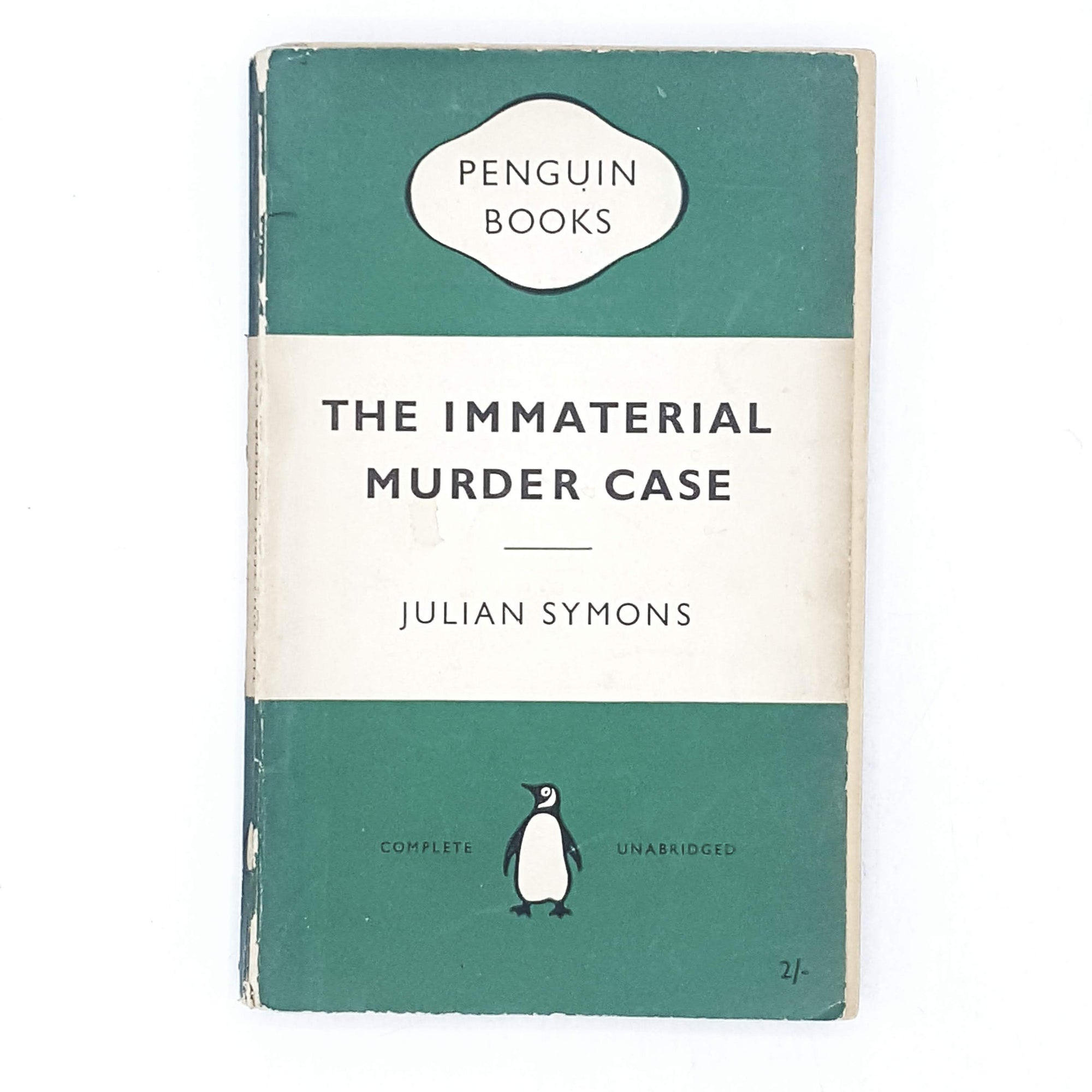 The Immaterial Murder Case by Julian Symons 1954