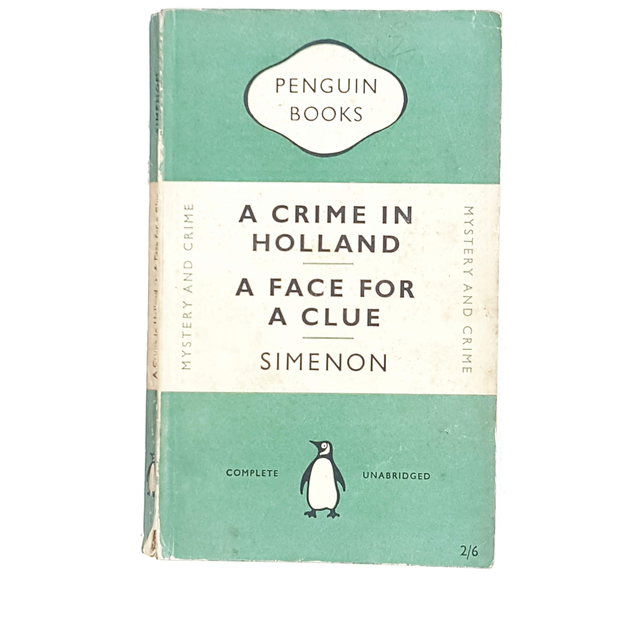 A Crime in Holland | A Face for a Clue by Simenon 1952