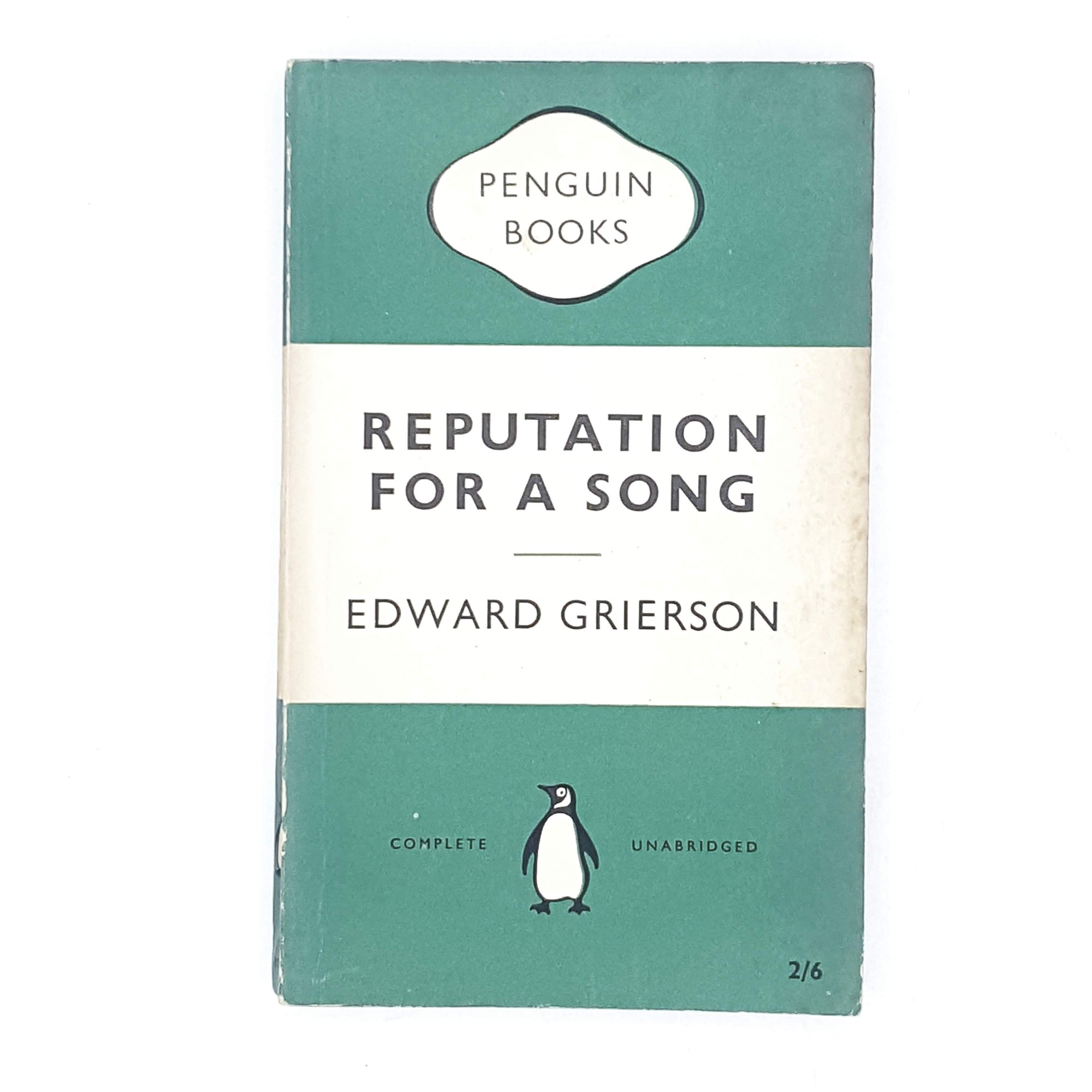 Reputation For a Song by Edward Grierson 1955