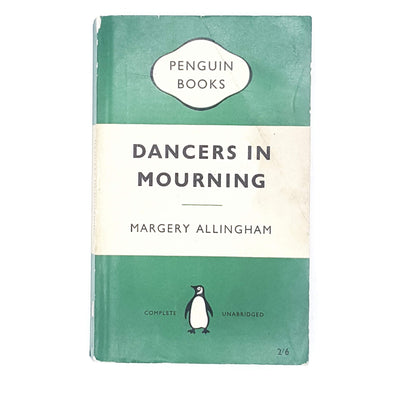 Dancers in Mourning by Margery Allingham 1960