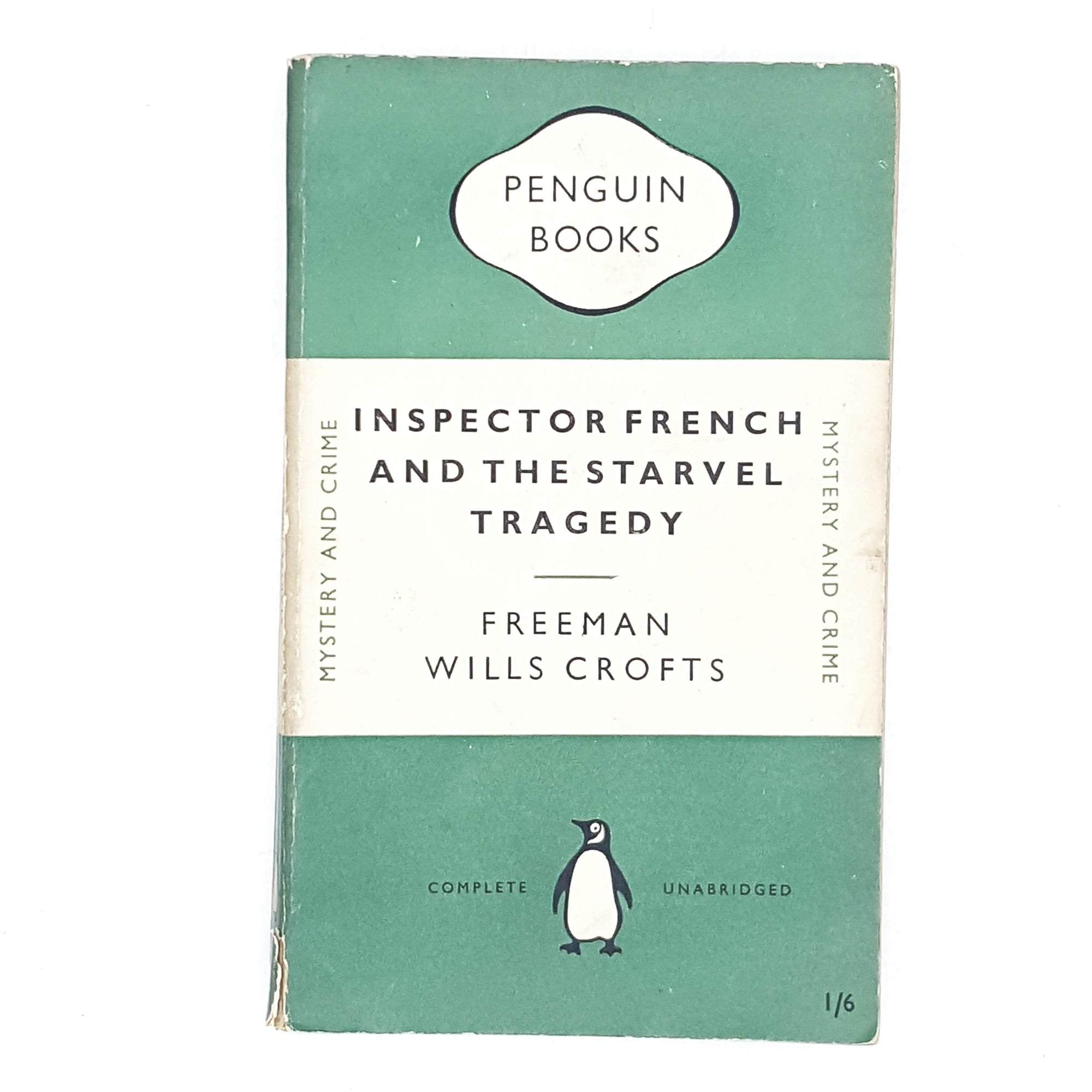 Inspector French and the Starvel Tragedy by Freeman Wills Crofts 1950