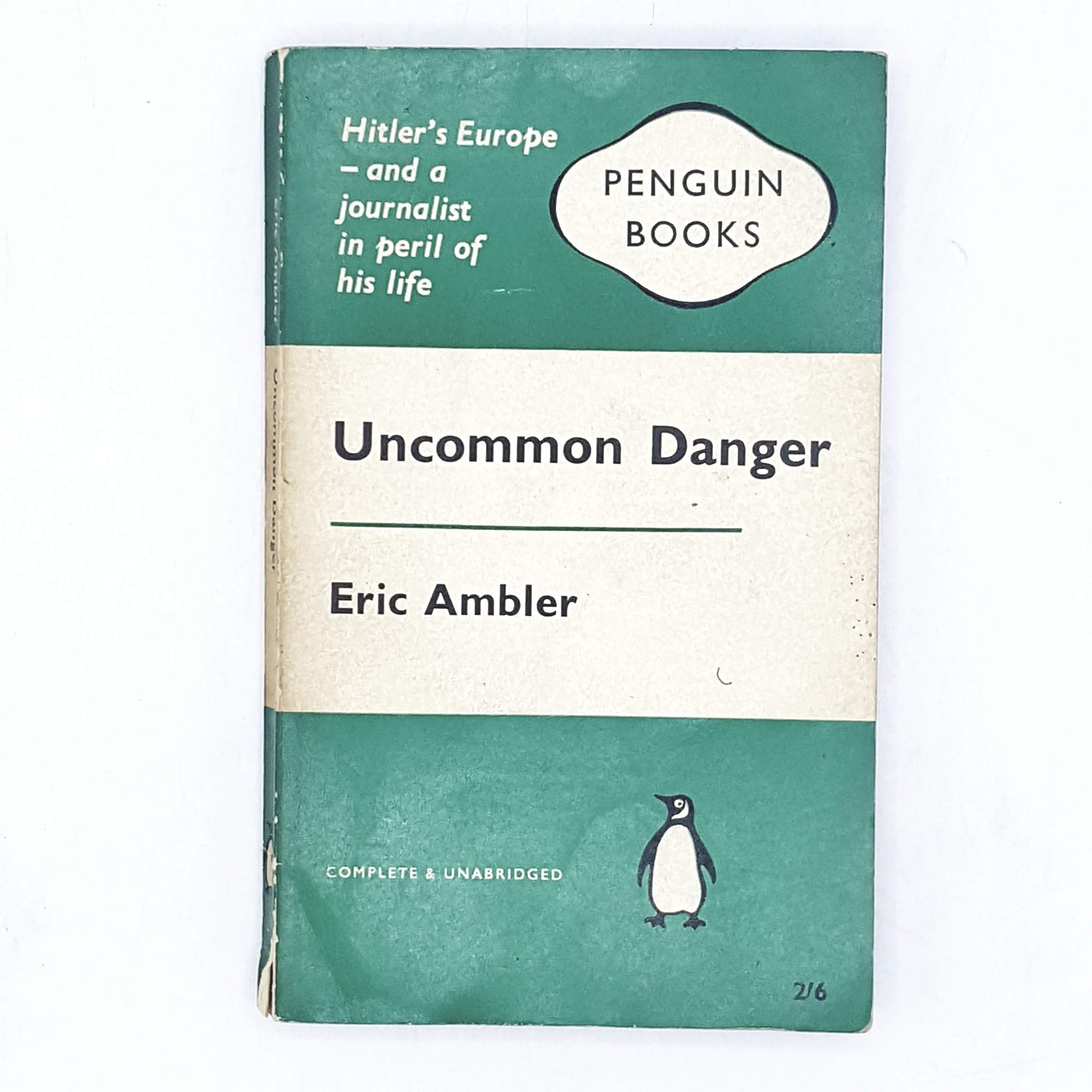 Uncommon Danger by Eric Ambler 1960