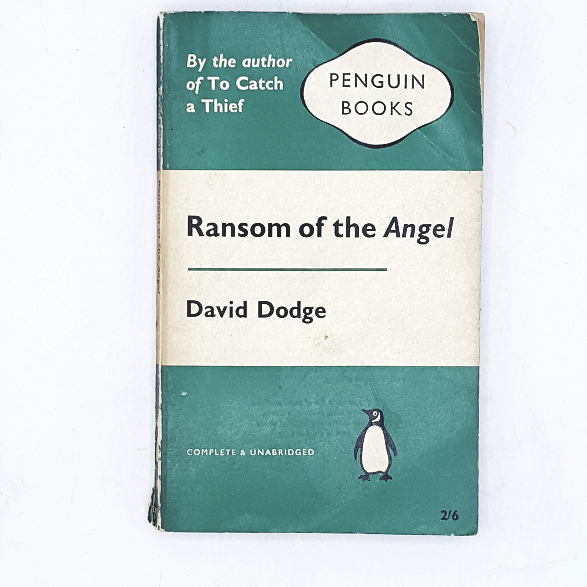 Ransom of the Angel by David Dodge 1961
