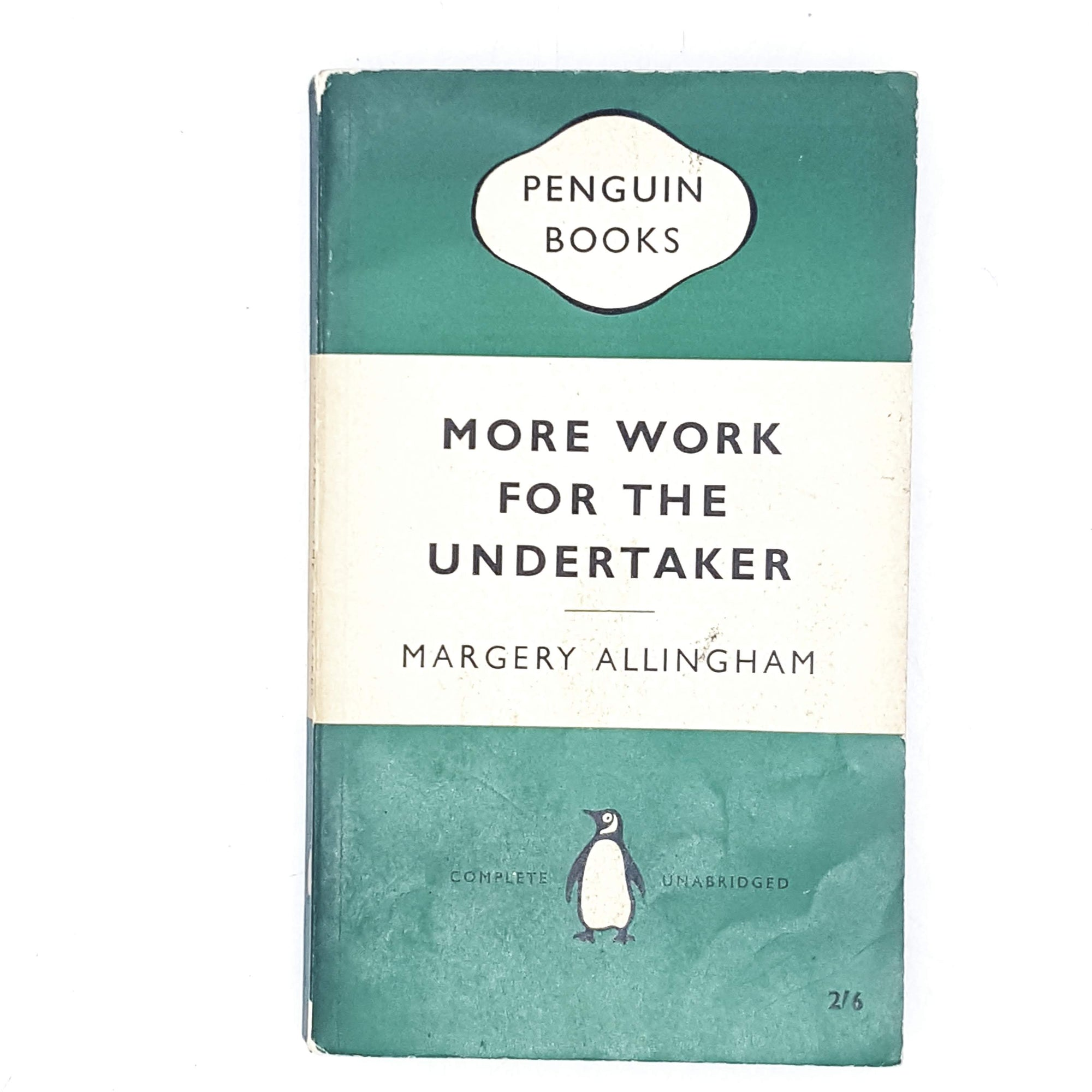 More Work for the Undertaker by Margery Allingham 1959