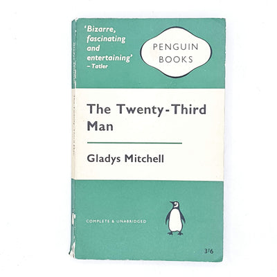 The Twenty-Third Man by Gladys Mitchell 1957