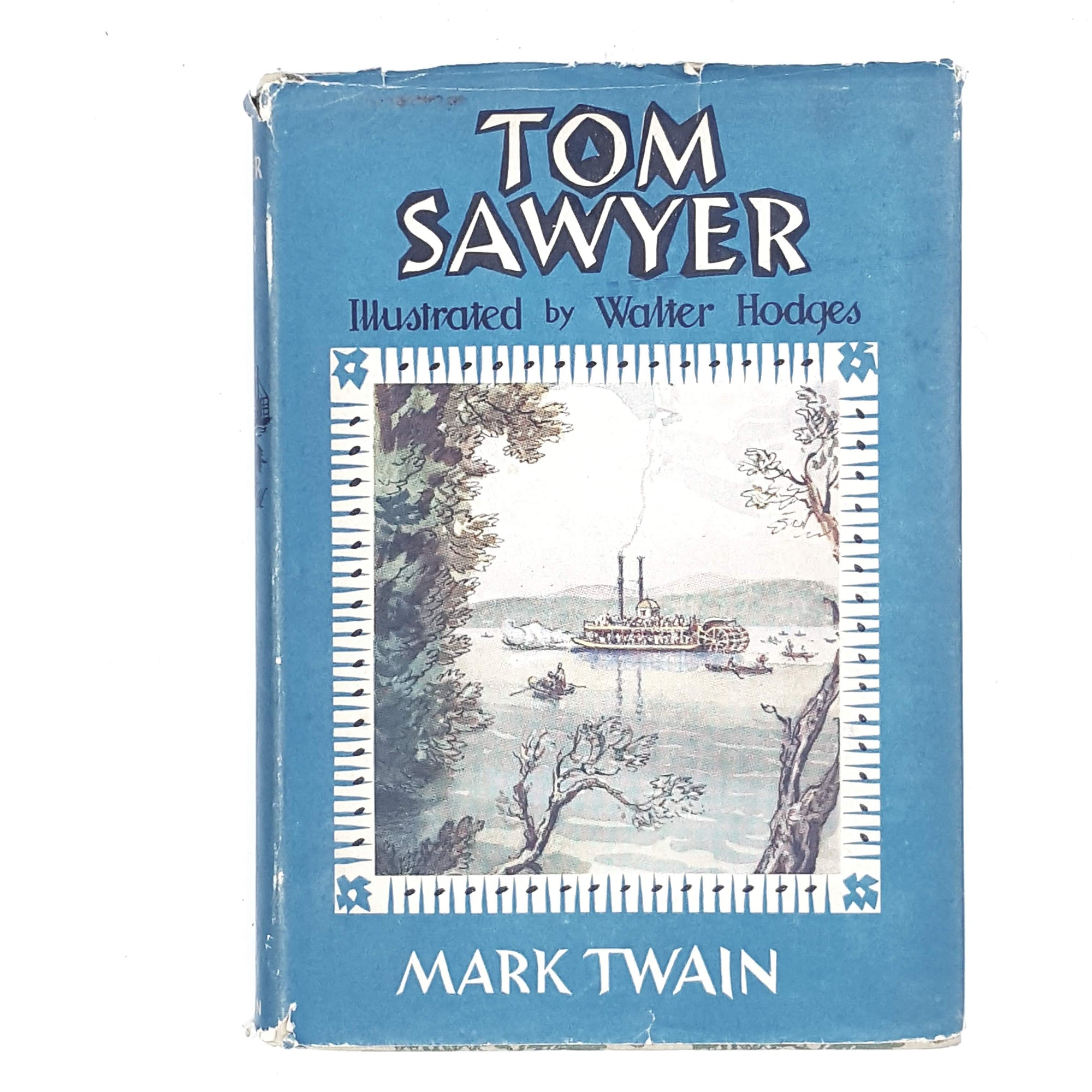 Illustrated Tom Sawyer by Mark Twain 1958