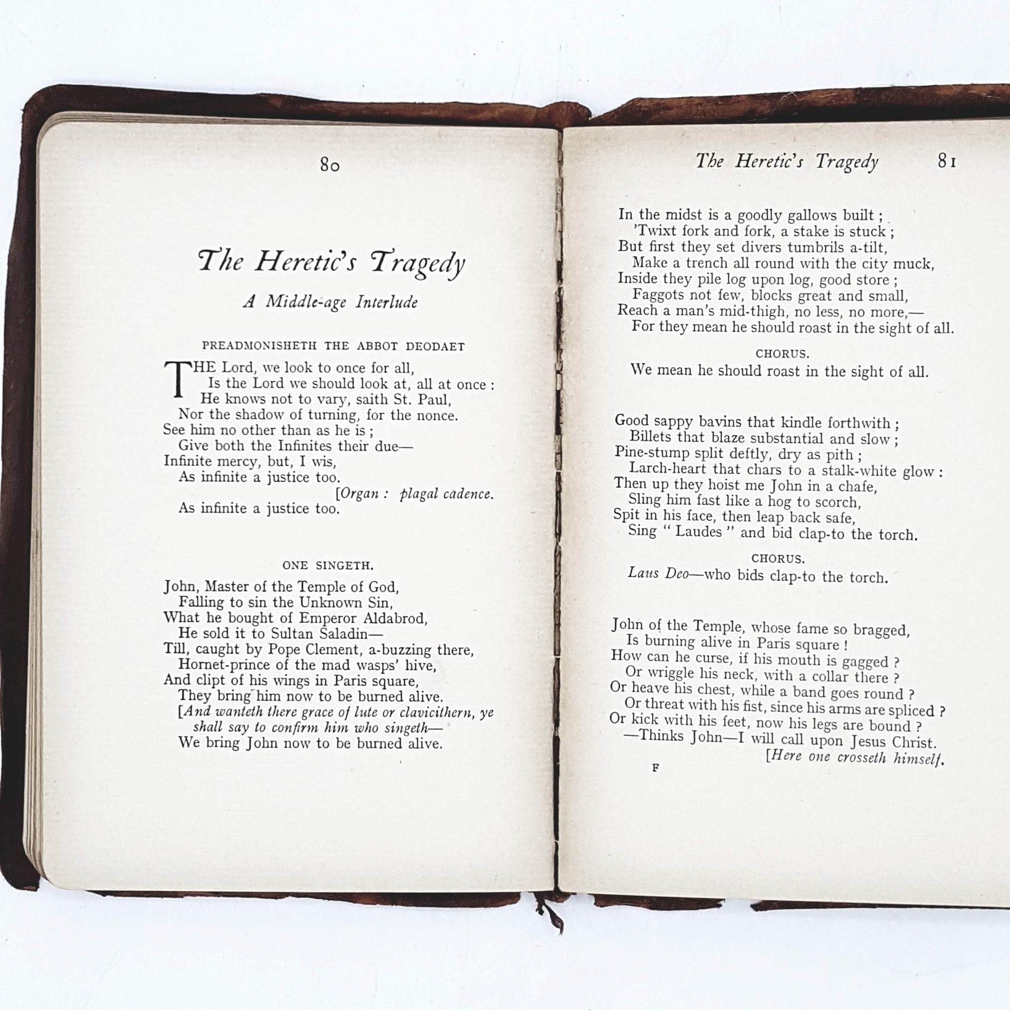 Poems of Robert and Elizabeth Browning c1909