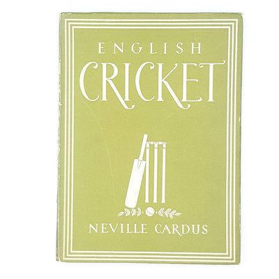English Cricket by Neville Cardus 1945