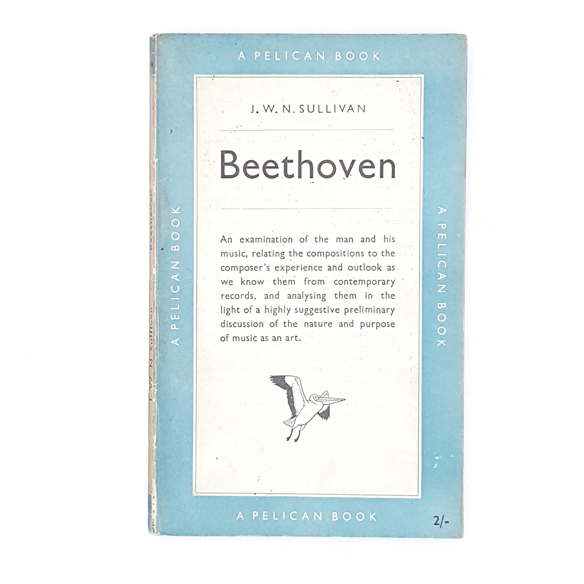 Beethoven by J. W. N. Sullivan 1951