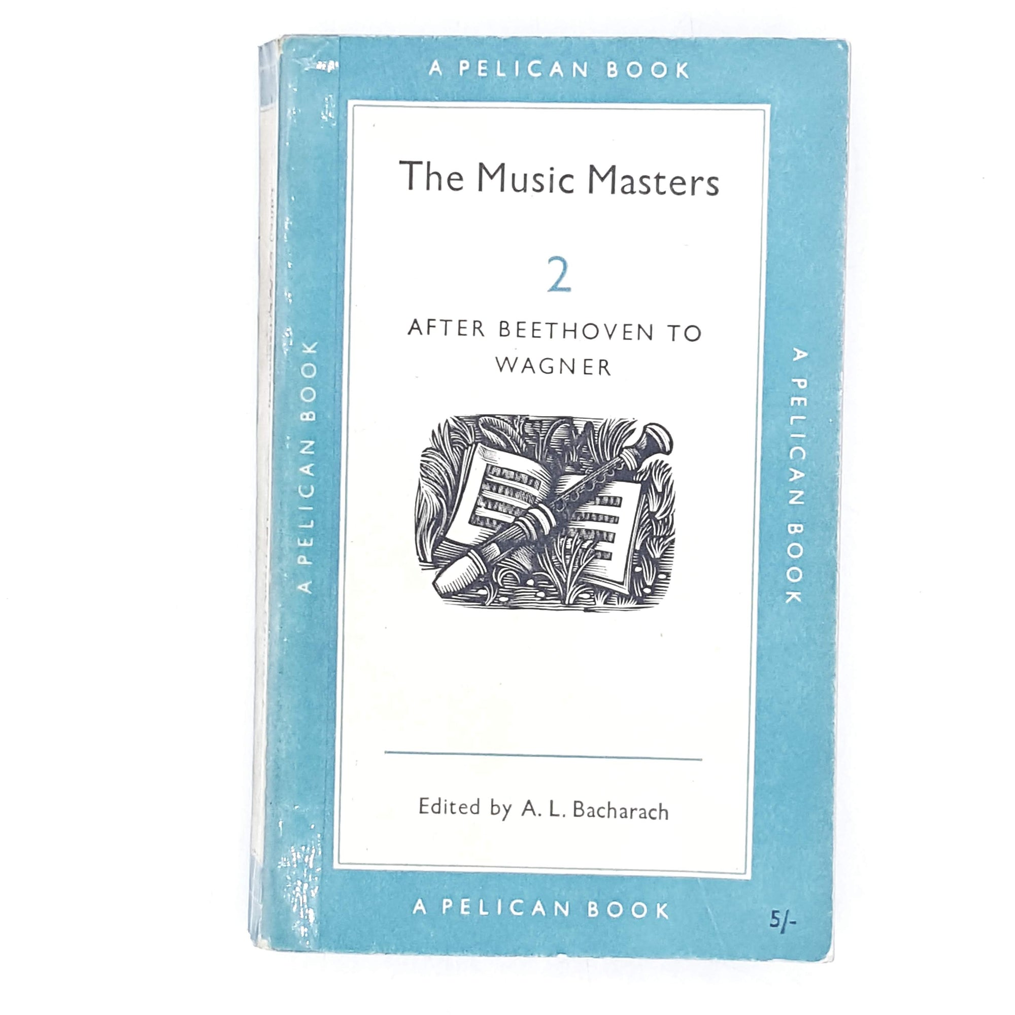 The Music Masters 2 by A. L. Bacharach 1958