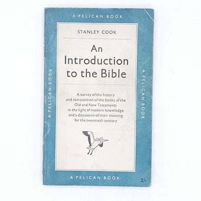 Pelican: An Introduction to the Bible 1952