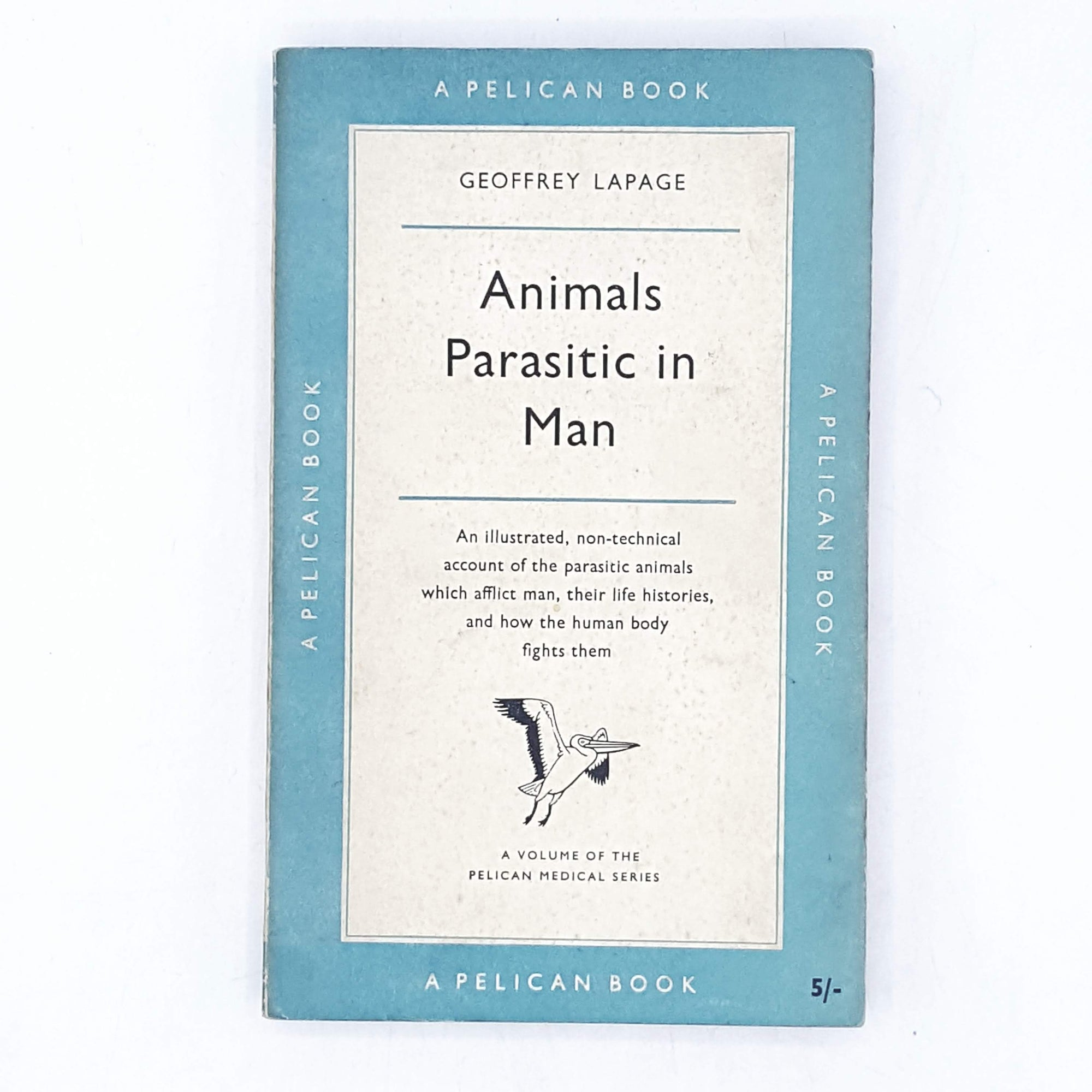 Animals Parasitic in Man by Geoffrey Lapage 1957