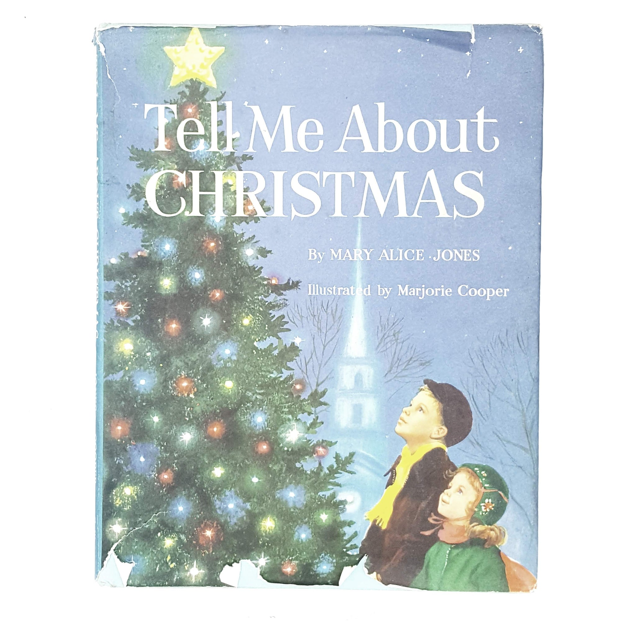 Tell Me About Christmas by Mary Alice Jones 1966
