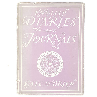 English Diaries and Journals by Kate O'Brien 1943