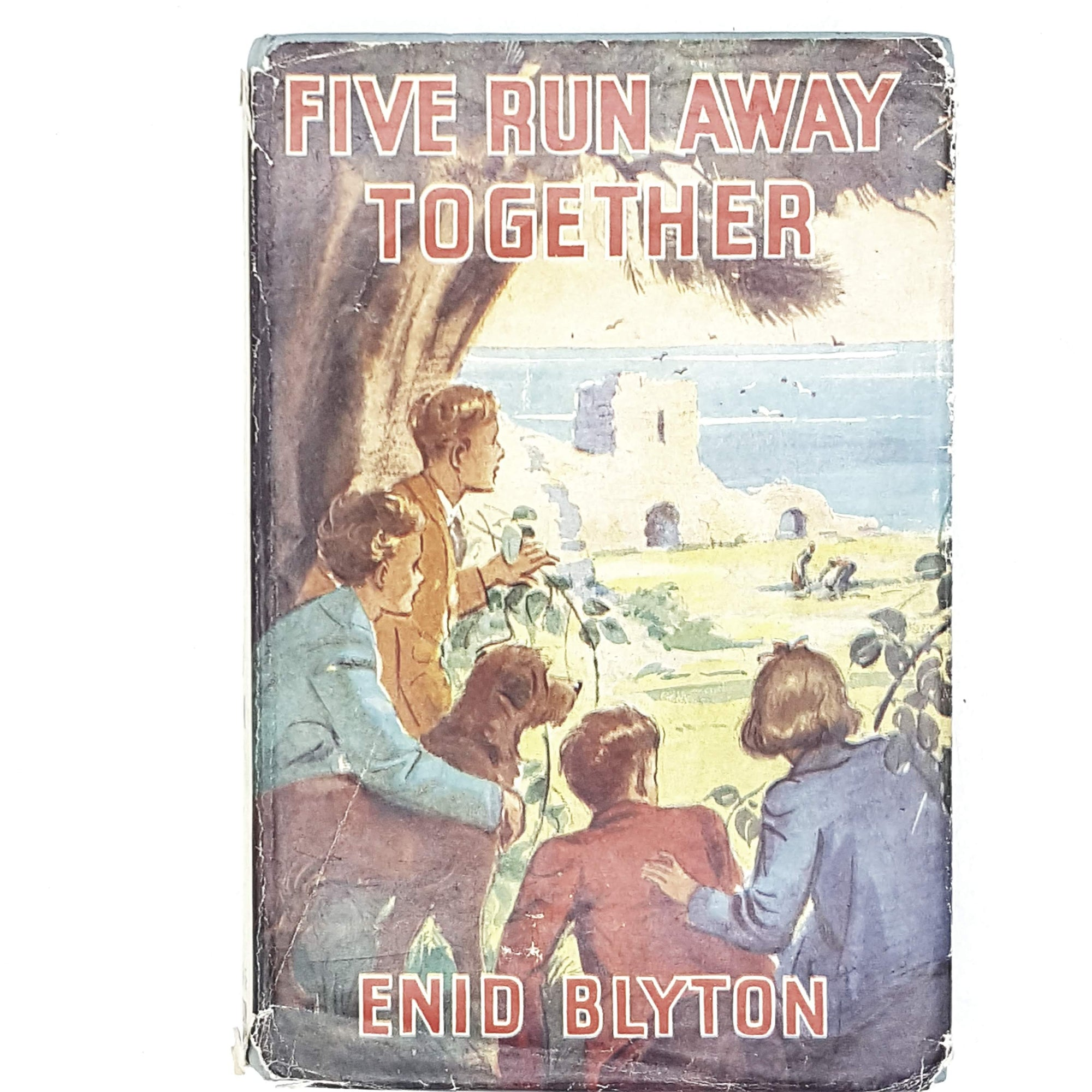 Five Run Away Together by Enid Blyton 1950