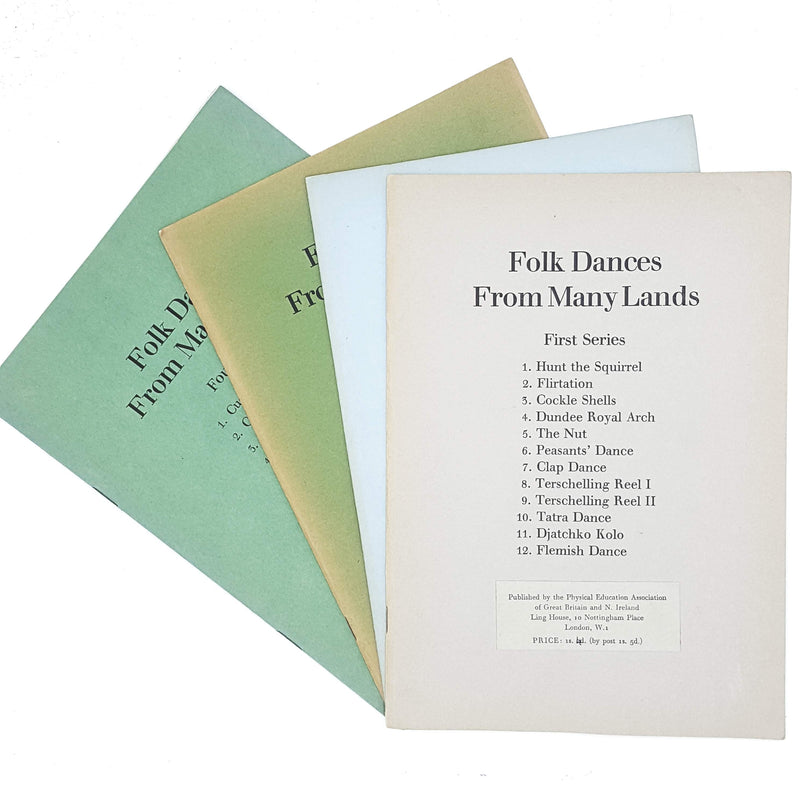Collection Folk Dances From Many Lands