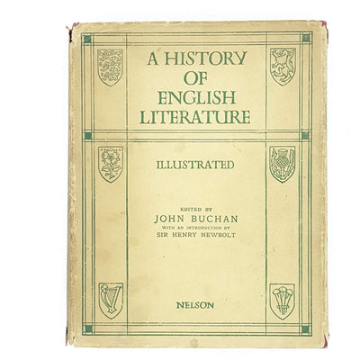 Illustrated A History of English Literature by John Buchan 1955