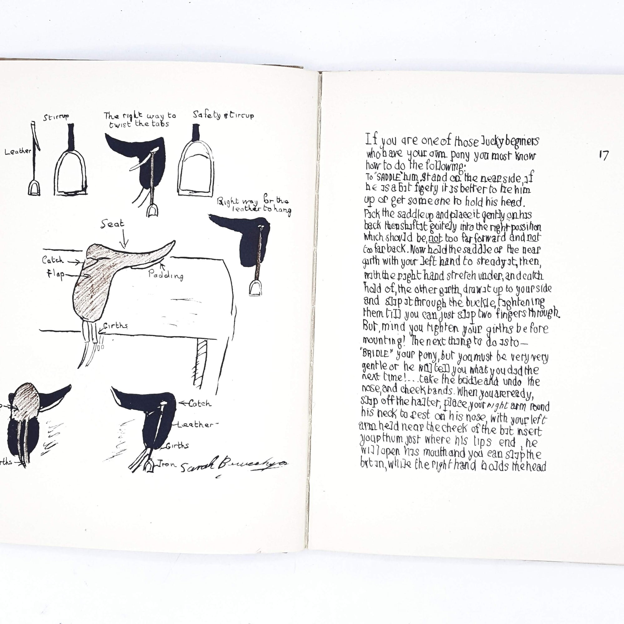 Illustrated Horsemanship As It Is To-day by Sarah Bowes-Lyon 1933